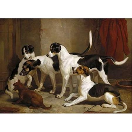 The Puckeridge Foxhounds Poster Print by Thomas Woodward, 10 x 14 - Small - image 1 de 1