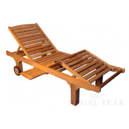 80 natural teak outdoor patio wooden chaise lounge chair for Cedar chaise lounge
