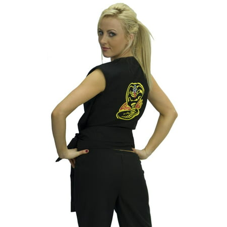 Karate Kid Cobra Kai Women's Sexy Costume GI Adult Standard
