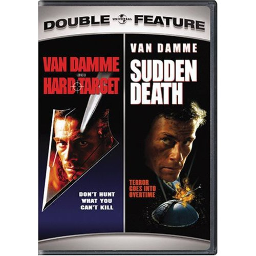 HARD TARGET/SUDDEN DEATH DOUBLE FEATURE (DVD)