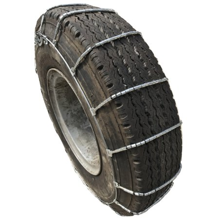 Snow Chains 2316 265/75-22.5, 265/75 22.5 Cable Tire Chains with Cam Set of 2 - image 1 of 4