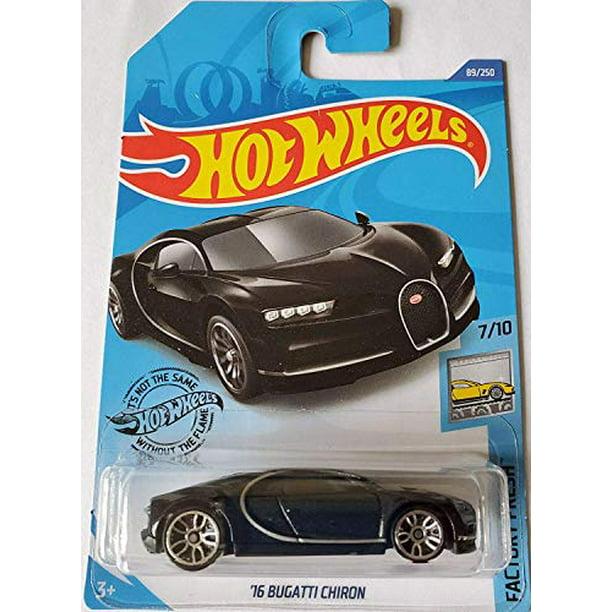 Bugatti 2020 Christmas Ornament Hot Wheels '16 Bugatti Chiron (Black) 2020 Factory Fresh   Walmart