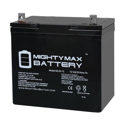 UB12550 (Group 22NF) Battery - Universal Battery - 12V 55Ah