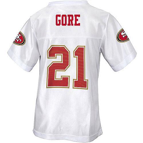 NFL Girls' San Francisco 49Ers Frank Gore Jersey