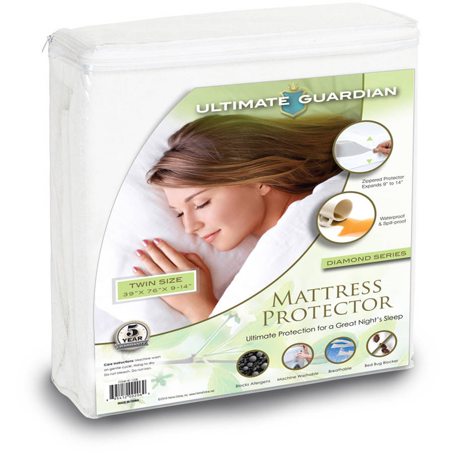 Ultimate Guardian, Lab Tested, 100 Percent Bed Bug Proof Mattress Protector