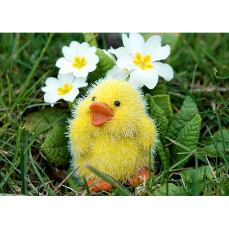 LAMINATED POSTER Cute Easter Decoration Easter Chicks Decoration Poster Print 24 x - Easter Home Decorations