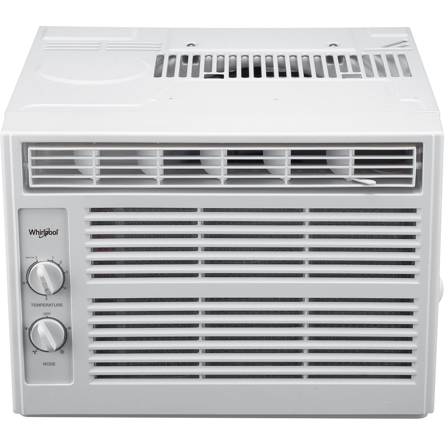 Whirlpool WHAW050BW 5,000 BTU 115V Window-Mounted Air Conditioner with Mechanical Controls
