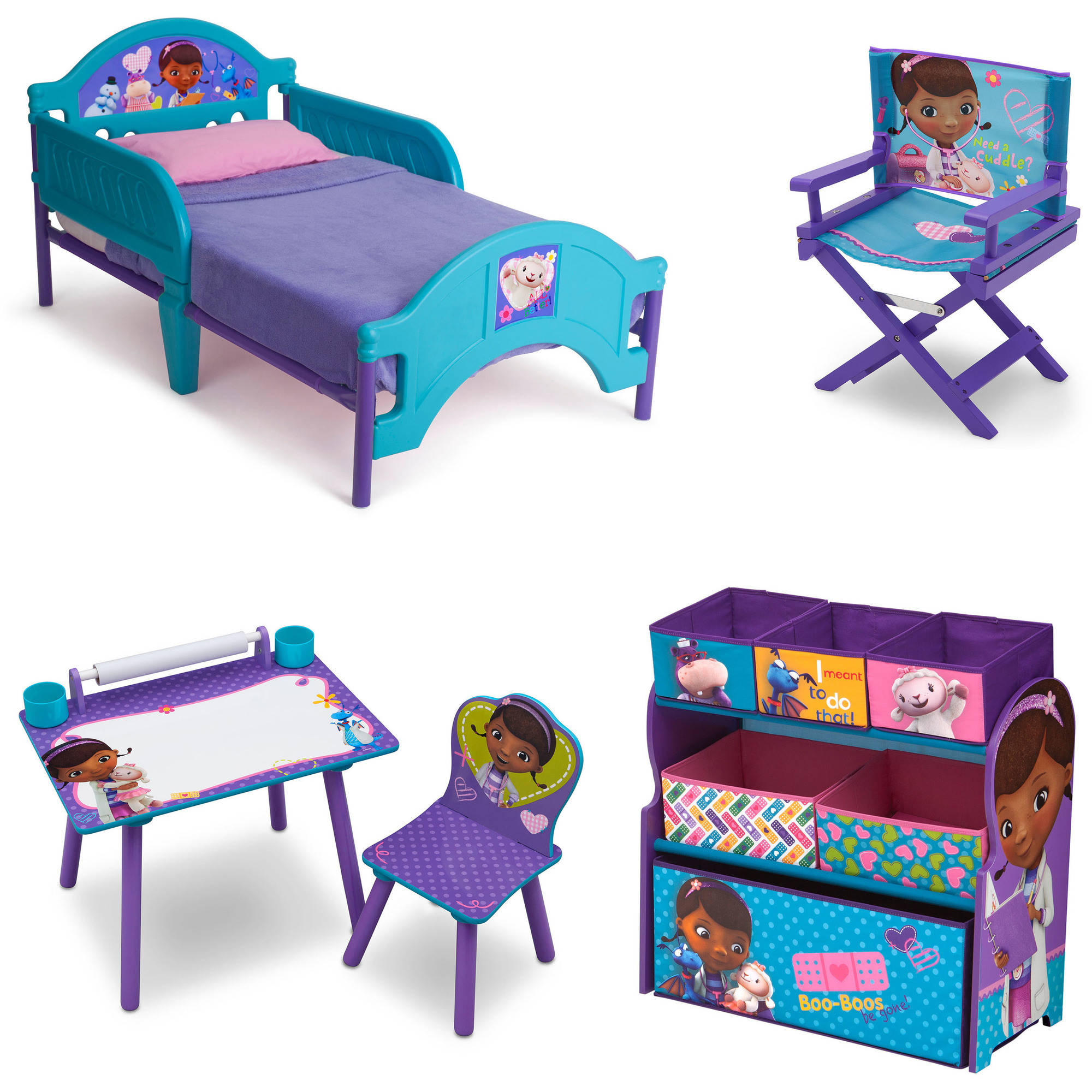 Disney Jr. Doc McStuffins Room-in-a-Box with Bonus Chair