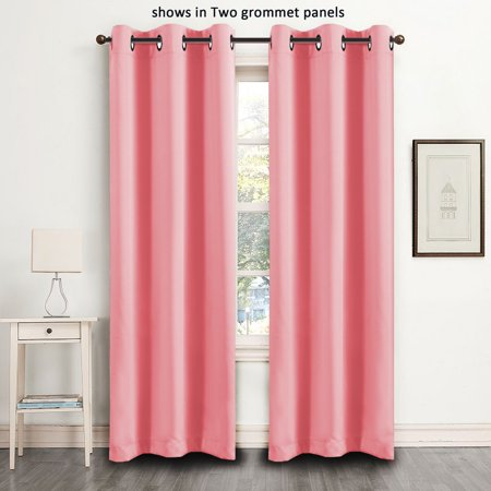 FlamingoP Blackout Curtains for Bedroom / Living Room Thermal ...