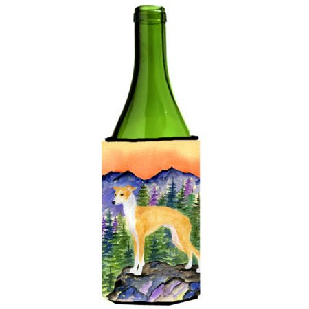 Italian Greyhound Wine bottle sleeve Hugger 24 oz.](Mini Wine Bottle)