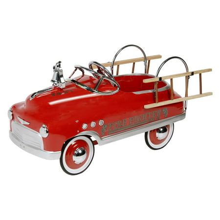 Fire Fighter Comet Sedan Pedal Car