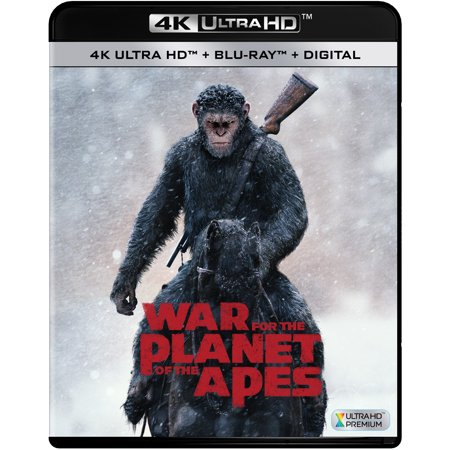 War For The Planet Of The Apes (4K Ultra HD + Blu-ray +