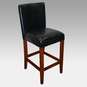 4D Concepts 30-Inch Deluxe Padded Bar Stool - Black