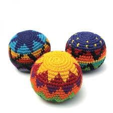 Hacky Sacks- Set of 3 Assorted Colors