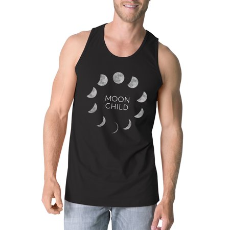 Moon Child Mens Black Workout Tanks Funny Halloween Tank Top Gifts](Halloween Themed Workout Ideas)