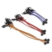 TEKTON 6263 Adjustable Ball Anchor/Hook Tarp Bungee Cord, 12-Piece Multi-Colored