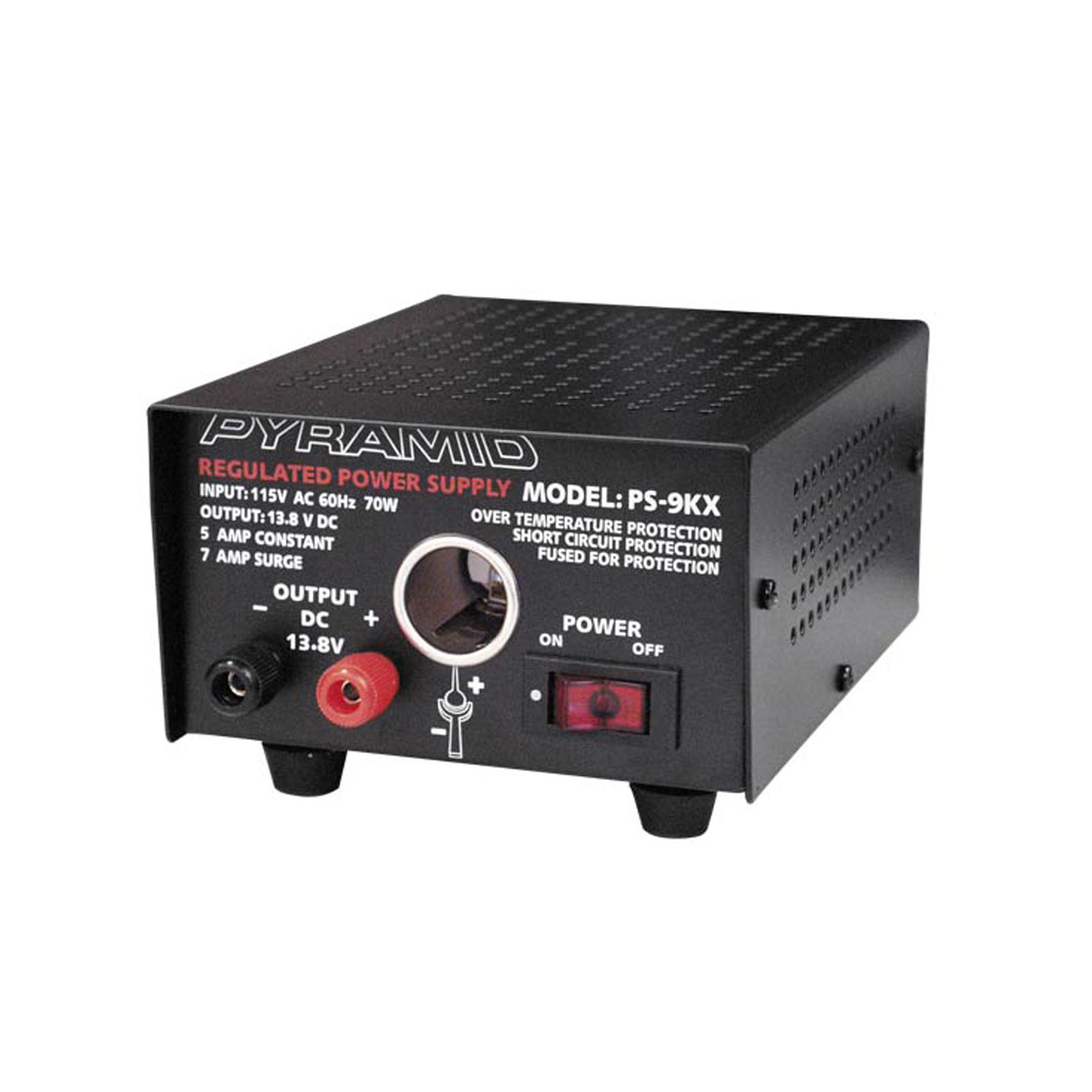 Pyramid 6 Amp Power Supply