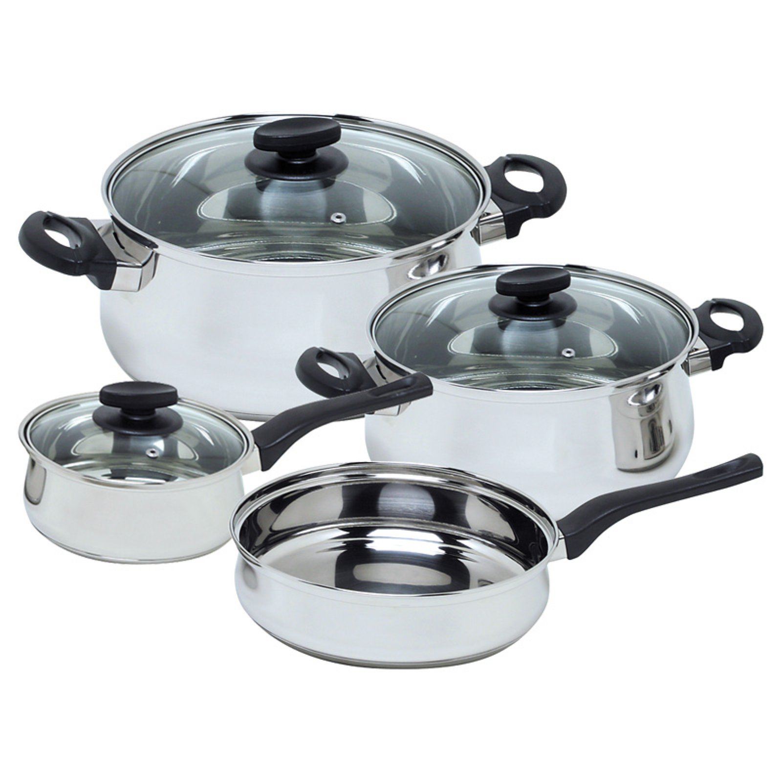 Magefesa Deliss 7 pcs. Stainless Steel Cookware Set