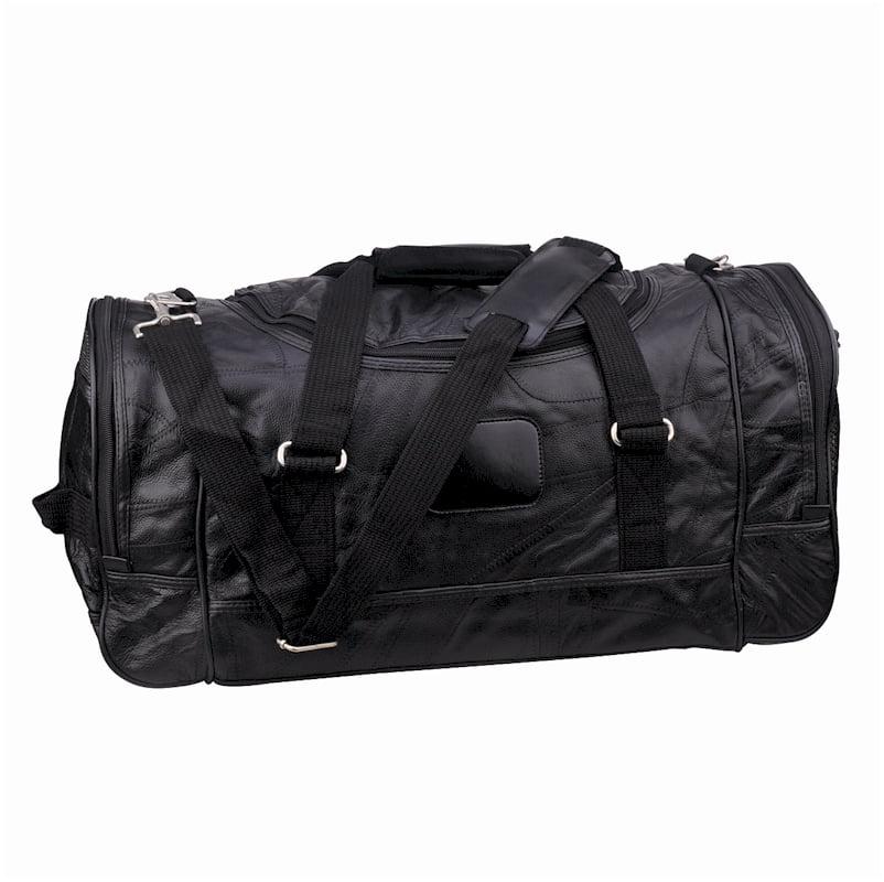 TRU BLU Leather Duffel Bag