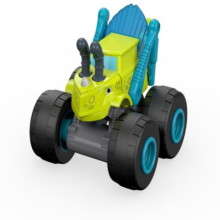 Fisher-Price Nickelodeon Blaze & the Monster Machines Grasshopper Zeg Truck, Collectable Grasshopper Zeg rolling truck By