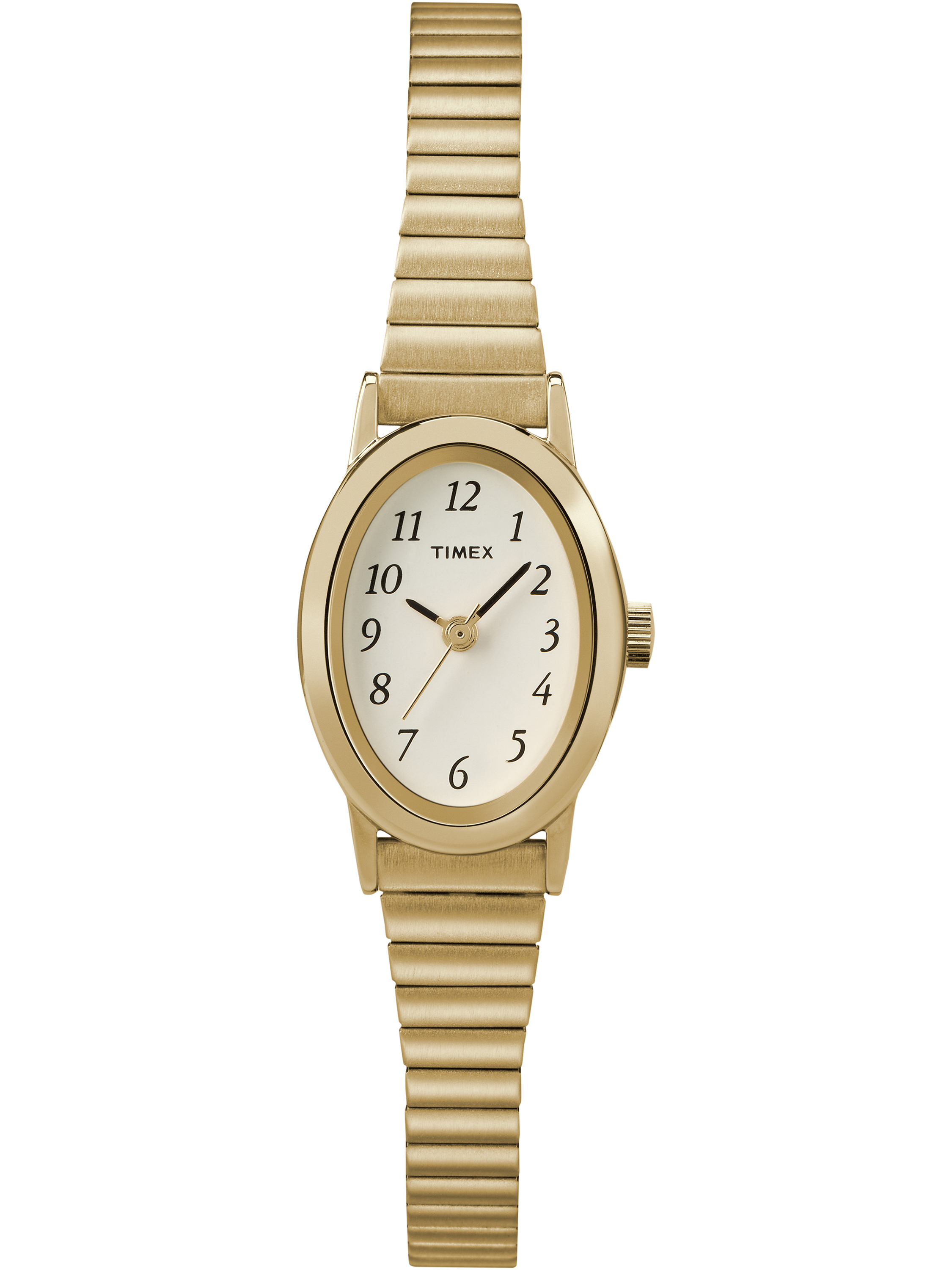 Timex Women's Cavatina Gold-Tone Stainless Steel Expansion Band Watch