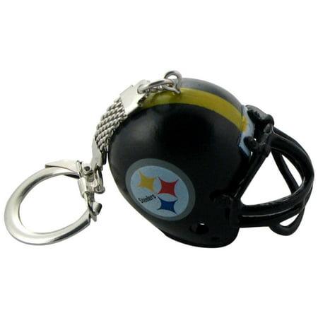 Pittsburgh Steelers Helmet Keychain