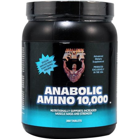 Healthy N Fit Anabolic Amino 10,000 Tablets, 360 (Best Anabolic Steroids To Get Ripped)