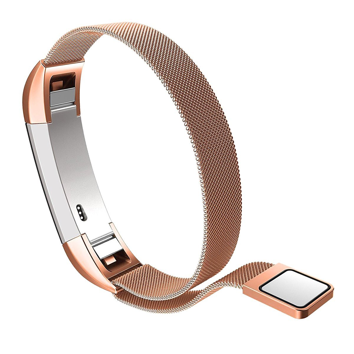 Kutop Band for Fitbit Alta HR , Fitbit Alta , Fitbit Alta 2 , Stainless Steel Bracelet Fitness Accessory Metal Wristband for Fitbi Alta