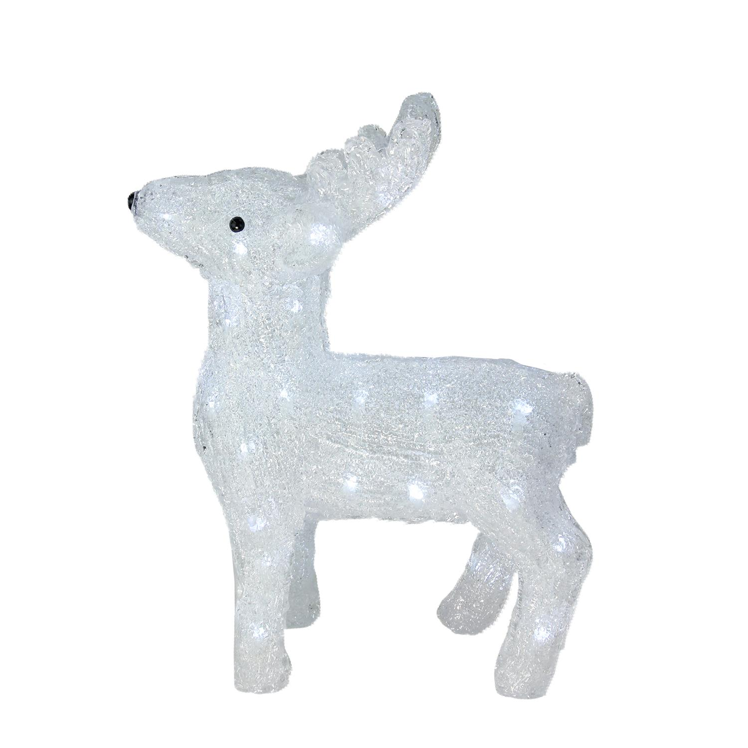 "15"" Lighted Commercial Grade Acrylic Baby Reindeer Christmas Display Decoration - image 2 of 2"