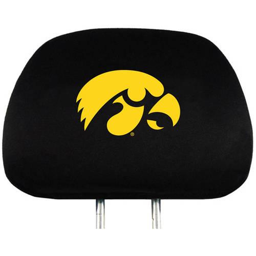 NCAA Iowa University Hawkeyes Headrest Cover