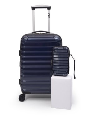 """iFLY Hard Sided Luggage Fibertech 20"""" & Travel Case (Online Exclusive)"""