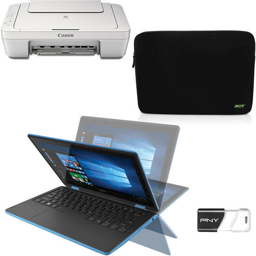 Buy a 2-in-1 Laptop Value Bundle with Printer, Case and Flash Drive