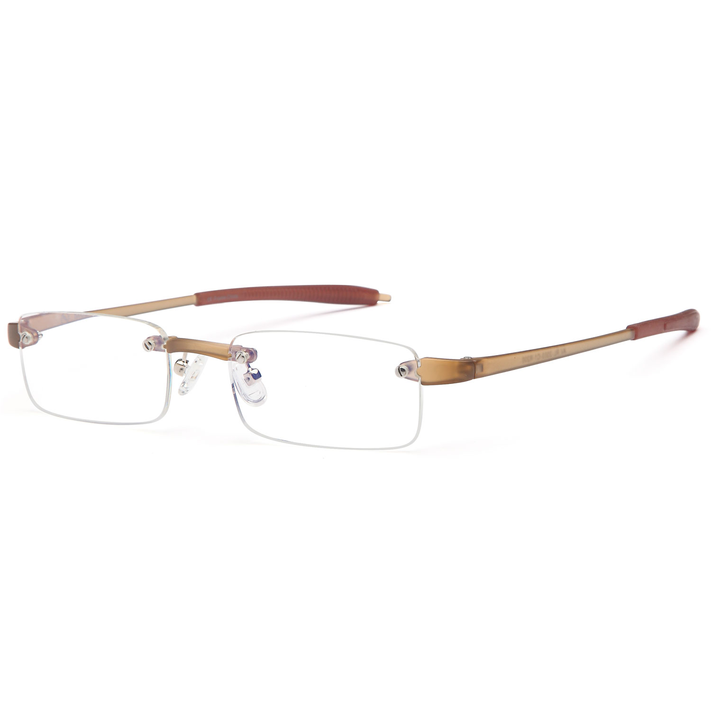 Rimless Reading Glasses Men and Women Lightweight Readers