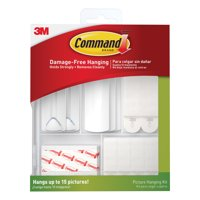 3M Scotch Command Damage-Free Picture Hanging Kit