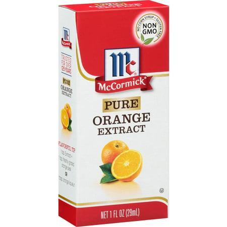 Mccormick Pure Orange Extract  1 Fl Oz