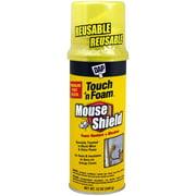 4001012506 12OZ Mouse Foam Sealant, Cream, For Interior & Exterior, Pest Blocker Air-Seals & Insulates By DAP