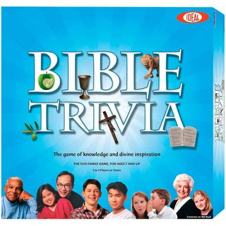 Ideal Bible Trivia Game - Adult Trivia Games