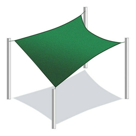 Aleko Waterproof Sun Shade Sail Rectangular Multiple Sizes And Colors