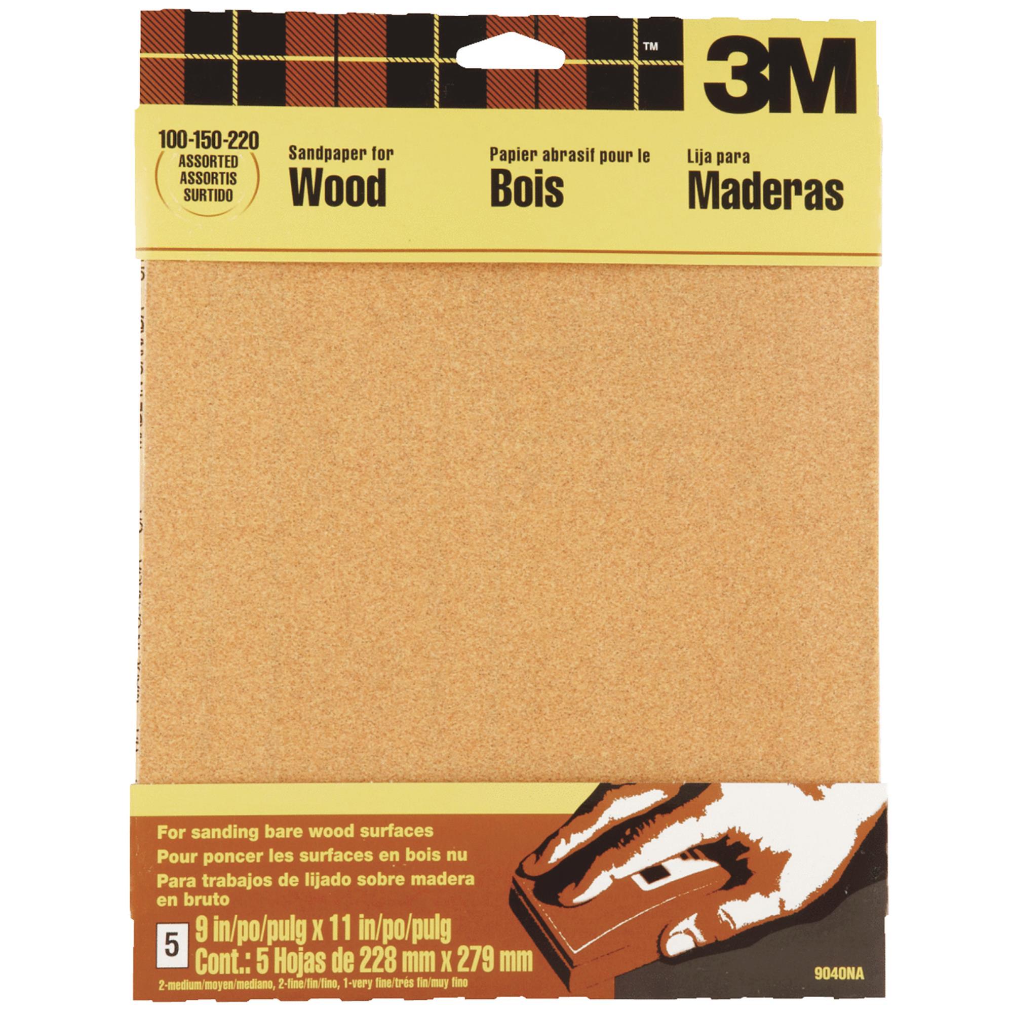 3M Wood Sandpaper