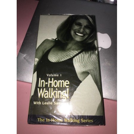 Leslie Sansone In Home Walking Series VHS Video Tapes Exercise Workout Vol 1