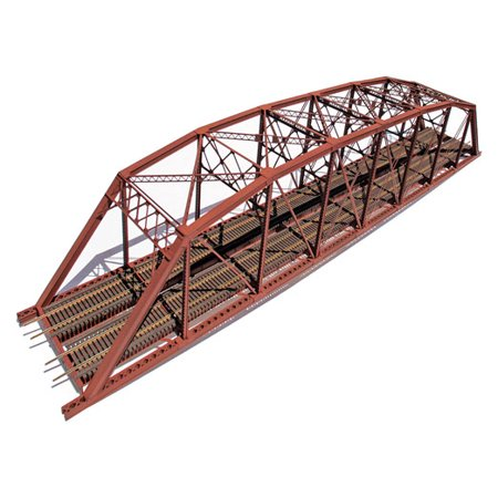 Central Valley Models 1900 Double-Track Heavy-Duty Laced-Truss Bridge for $<!---->