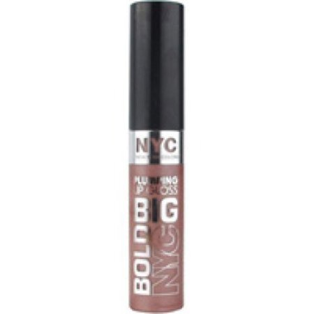NYC New York Color Big Bold Plumping Lip Gloss, Colossal Cocoa