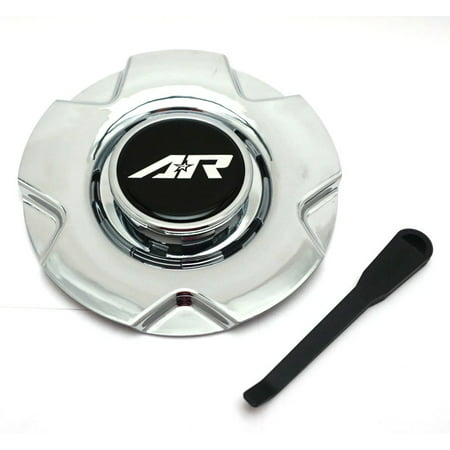 American Racing PVD Chrome Wheel Center Hub Cap 5 Lug for AR895 15/16'' American Racing Wheels Caps