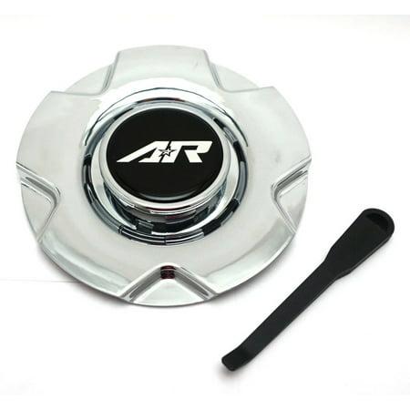 American Racing PVD Chrome Wheel Center Hub Cap 5 Lug for AR895 15/16'' ()