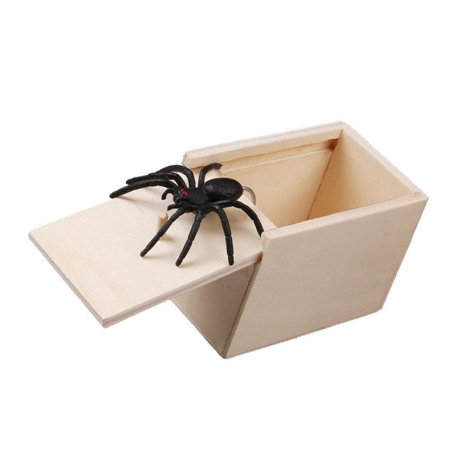 Cluxwal Artificial Animal Wooden Surprise Scare Box Joke Prank Case Funny Horror Trick Toy](Halloween Jump Scare Prank)