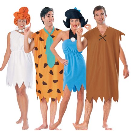 Flintstones Group Costume Set (Funniest Group Costumes)