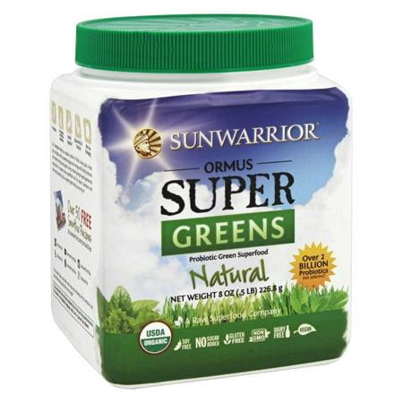 Sunwarrior Ormus Organic Supergreens, Natural, 1.0 (Best Ormus On The Market)