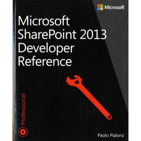 Microsoft-Sharepoint-2013-Developer-Reference