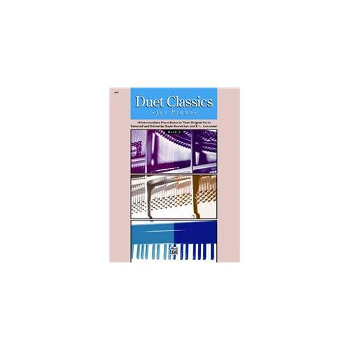 Alfred 00-6645 Duet Classics for Piano- Book 2 Music Book by Alfred