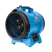 "XPOWER X-8 Variable Speed 8"" Diameter Industrial Confined Space Ventilator Fan"